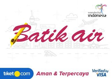 Tiket Batik Air Ke Labuanbajo Lbj Harga Promo Murah