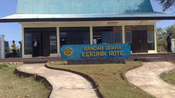 Foto Bandara di Lekunik Rote Ndao
