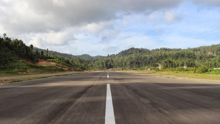 Foto Bandara di Marinda Raja Ampat