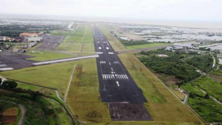 Foto Bandara di Morotai Pulau Morotai