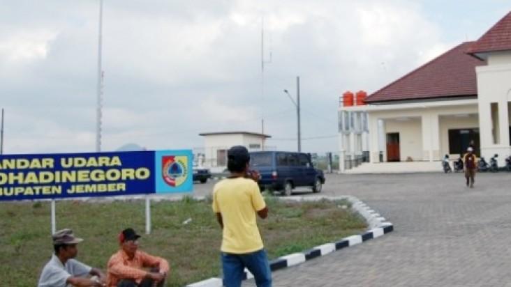 Foto Bandara di Notohadinegoro Jember