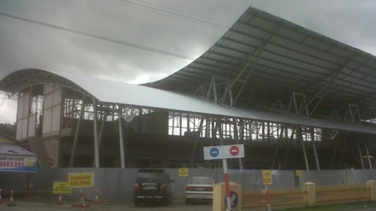 Foto Bandara di Rendani Manokwari