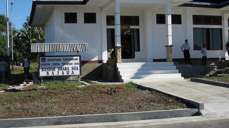 Foto Bandara di Turelelo Soa Bajawa