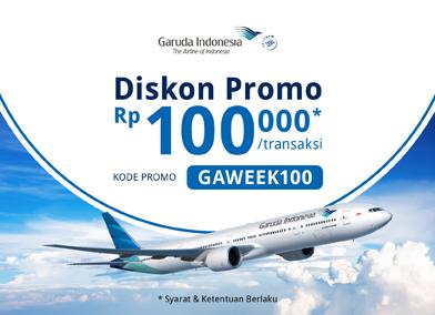 Promo Garuda Indonesia Week 18-25