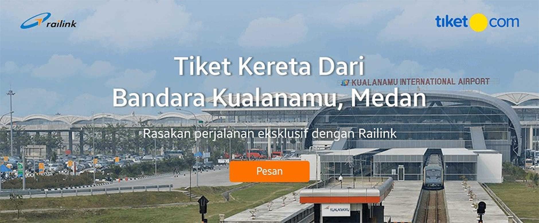 RAILINK - Tiket Kereta Bandara Kualanamu