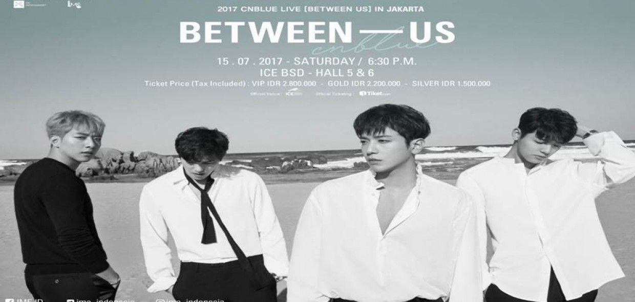 2017 CNBLUE LIVE BETWEEN US IN JAKARTA