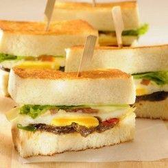 Sandwich Bakar Pesanggrahan