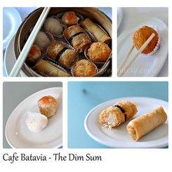 Menu at Cafe Batavia