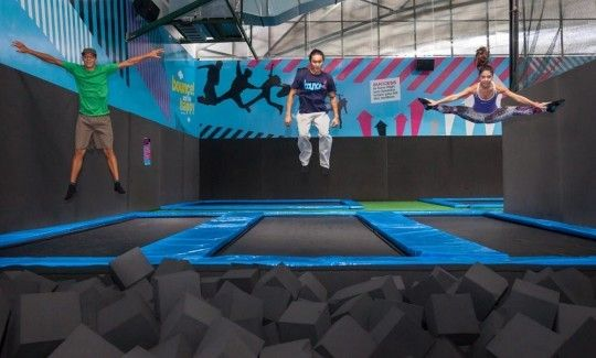 harga tiket Admission to Bounce Trampoline Centre