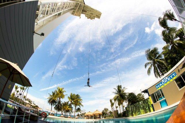 AJ Hackett Sentosa: Bungy Jump, Giant Swing and Vertical Skywalk