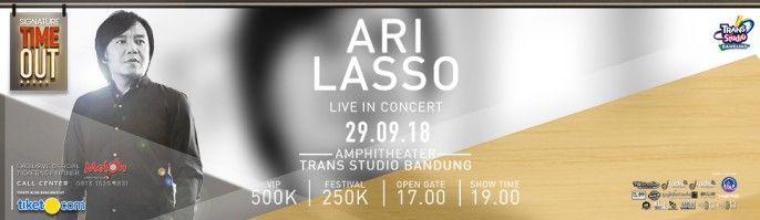 harga tiket Ari Lasso Live In Concert 2018