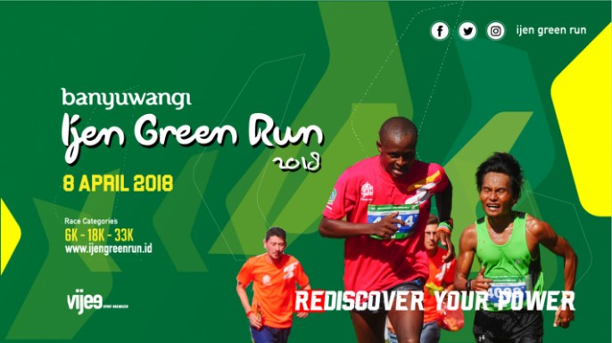 harga tiket BANYUWANGI IJEN GREEN RUN 2018 (CITIZEN)