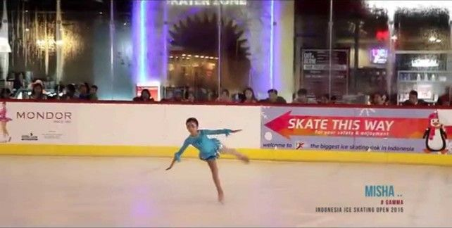 Ice Skating BX Rink Bintaro
