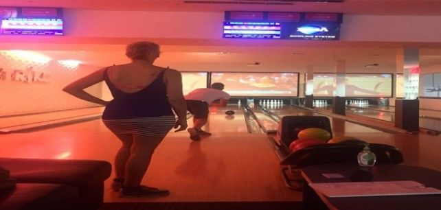 Bowling in Bali, Indonesia