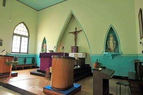 Gereja Katolik Santa Barbara Sawahlunto