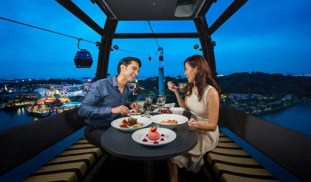 Dining on Cloud 9: Sky Dining Experience