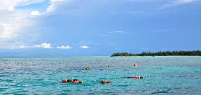 Diving At Mantanani Island