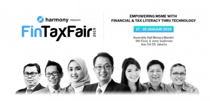 harga tiket FinTax Fair 2019
