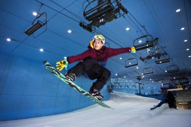 Full-day Ski Dubai Polar Pass