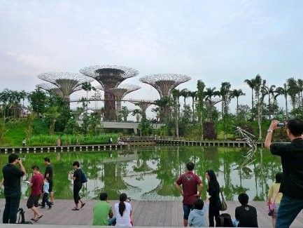 Gardens by the Bay E-tickets (bar codes)