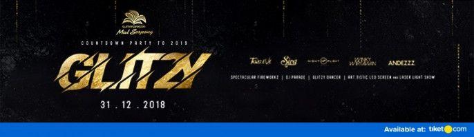 harga tiket Glitzy 2018
