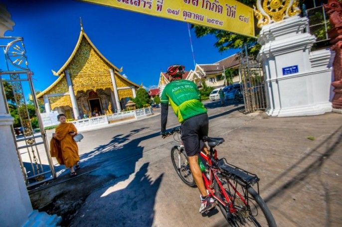 harga tiket Half-day Join-in Cycling Tour of Chiang Mai