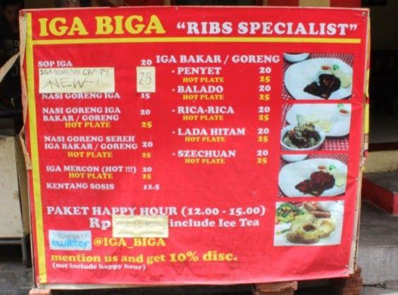 Iga Biga Bandung