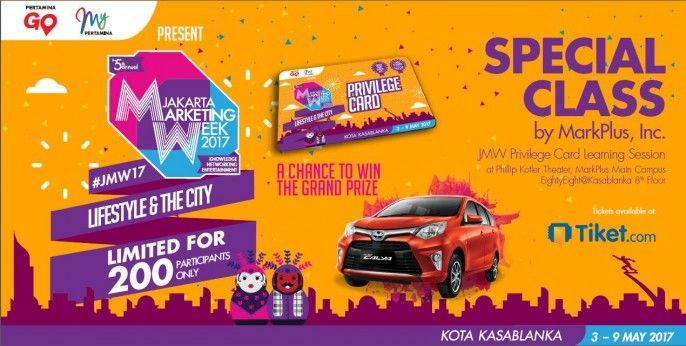 harga tiket Jakarta Marketing Week 2017