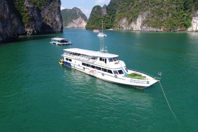 harga tiket James Bond Island Tour by Big Boat (Canoeing Hong Island, Samet Nang She View Point, Lunch on Board)