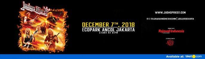harga tiket Judas Priest Live In Concert 2018
