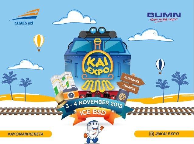 harga tiket KAI EXPO 2018