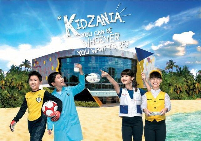 KidZania Singapore E-ticket