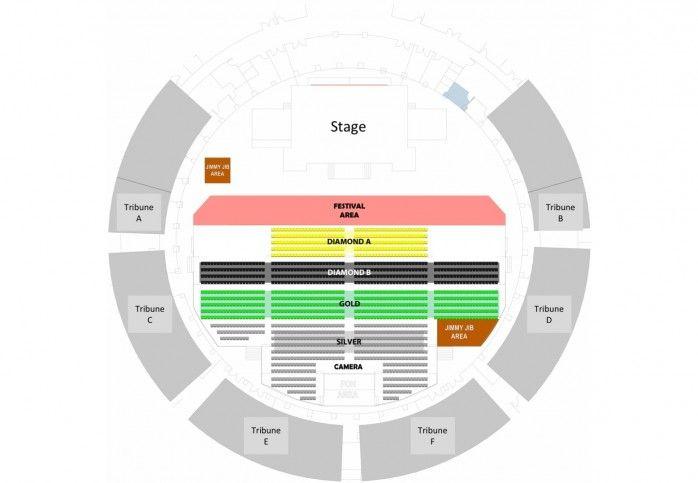 Lokasi Layout KARUNIA SEMESTA - Konser 30 Tahun Kla Project 2018