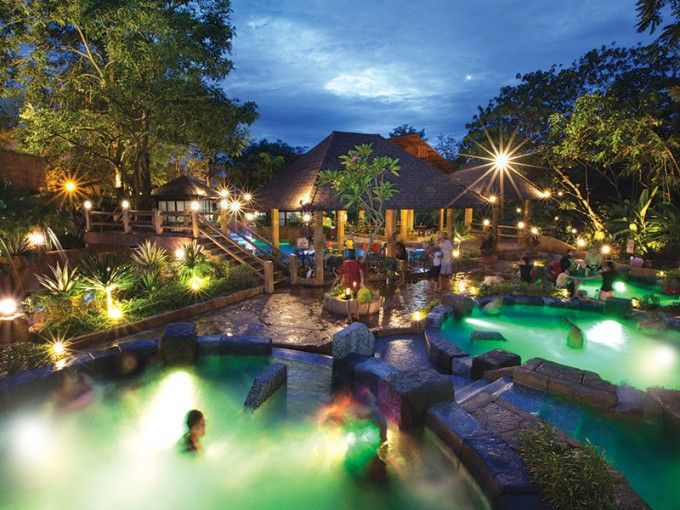 harga tiket Lost World Hot Springs and Spa by Night Admission Ticket