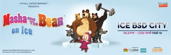 harga tiket Masha & The Bear on Ice - Show 2 (Saturday, 30 Juni 2018)