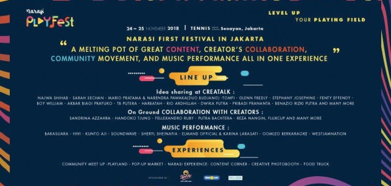 Narasi Playfest 2018