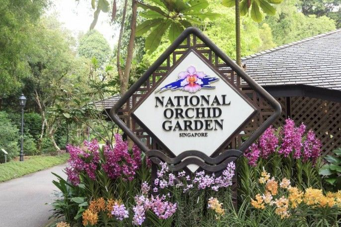 harga tiket National Orchid Garden E-ticket