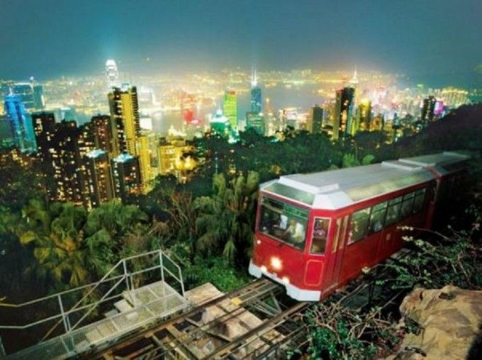 harga tiket Peak Tram Roundtrip Pass with Sky Terrace 428 Admission (Fast Track)