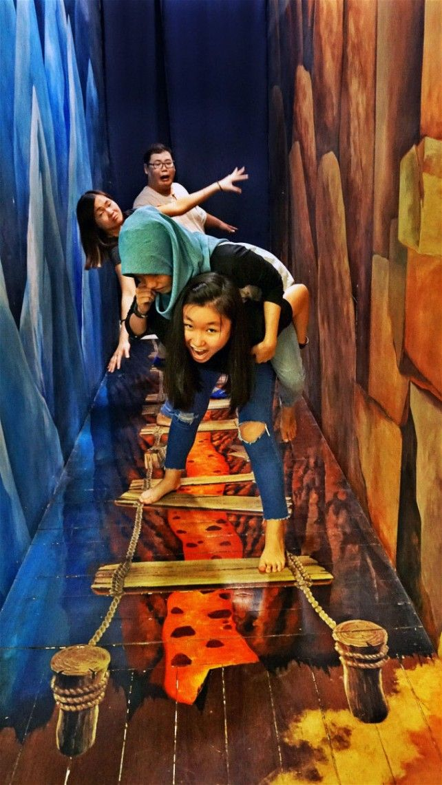 Penang 3D Trick Art Museum Admission Ticket