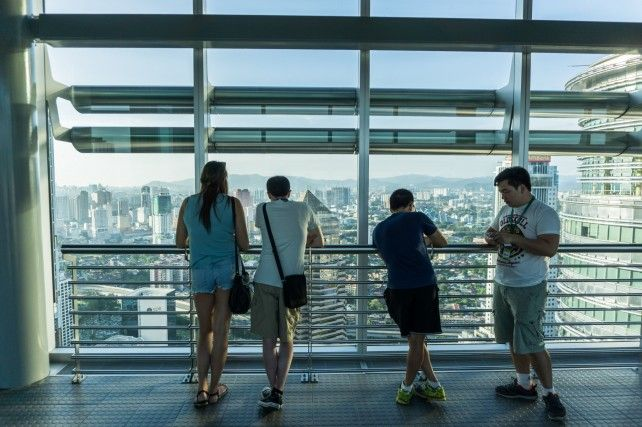 Petronas Twin Towers E-ticket