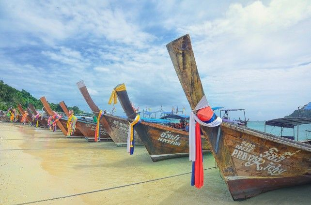 Phi Phi Island, Yao Yai, and Khai Island Tour by Speedboat (No Maya Beach)
