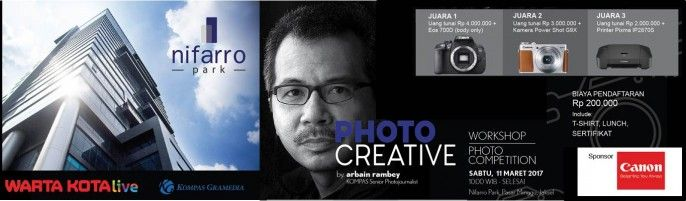 harga tiket Photo Creative by Arbain Rambey