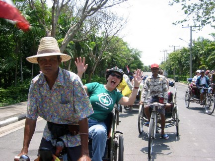 harga tiket Rickshaw Ride and Hiking Tour in Bangkok