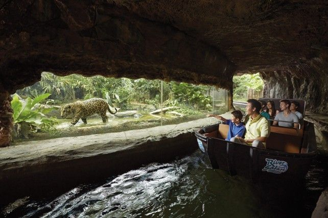 River Safari: Admission with Two Boat Rides