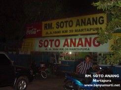 Soto Anang, Martapura