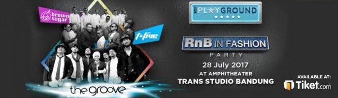 harga tiket RnB In Fashion 2017