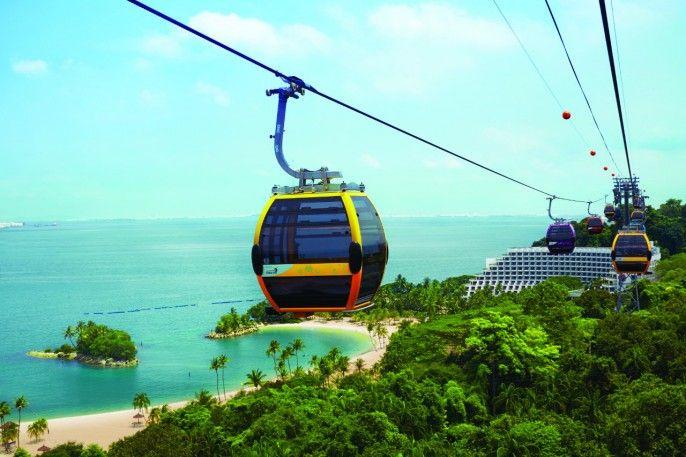 harga tiket Round Trip Singapore Cable Car E-voucher