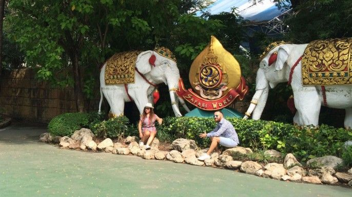 harga tiket Safari World & Marine Park Ticket with Indian Lunch