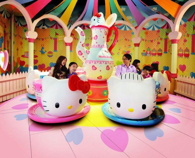 harga tiket Sanrio Hello Kitty Town and Thomas Town E-ticket