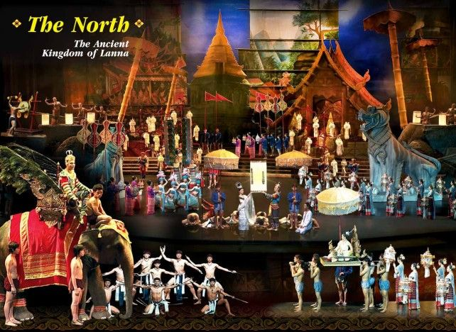 Siam Niramit Show Bangkok Ticket